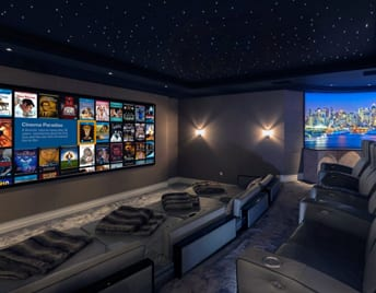 Dark Home Cinema